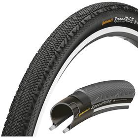 Continental Speed Ride Copertone 28 x 1,60 pollici pieghevole, black